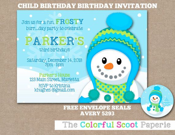 13 best winter birthday party ideas images on pinterest birthday frosty fun birthday invitation birthday invite birthday invitation winter birthday party filmwisefo Image collections