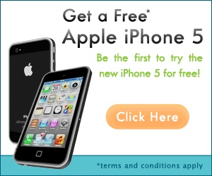 Get a Free iPhone 5