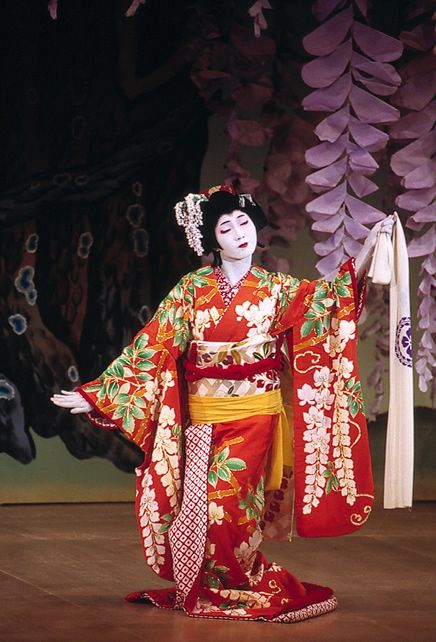 17 Best Images About Japanese Traditional Dance On Pinterest