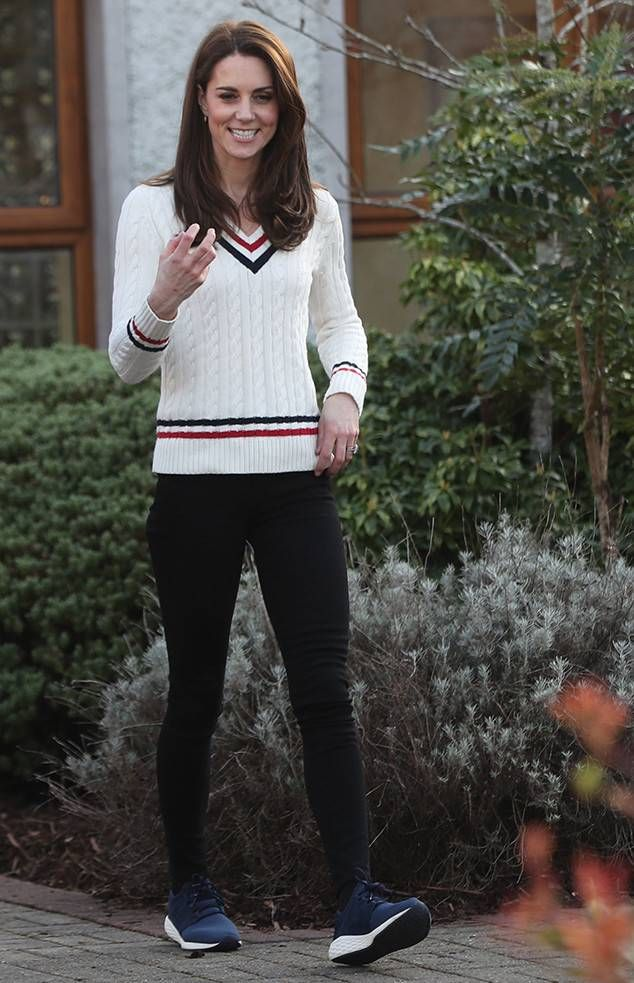 Casual Style from Kate Middleton and Prince William Visit