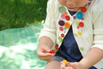 Decorate with buttons