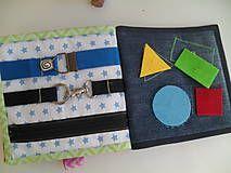 Hračky - Quiet book, hravá edukačná kniha  ( ukážka možnej varianty ) - 5754666_