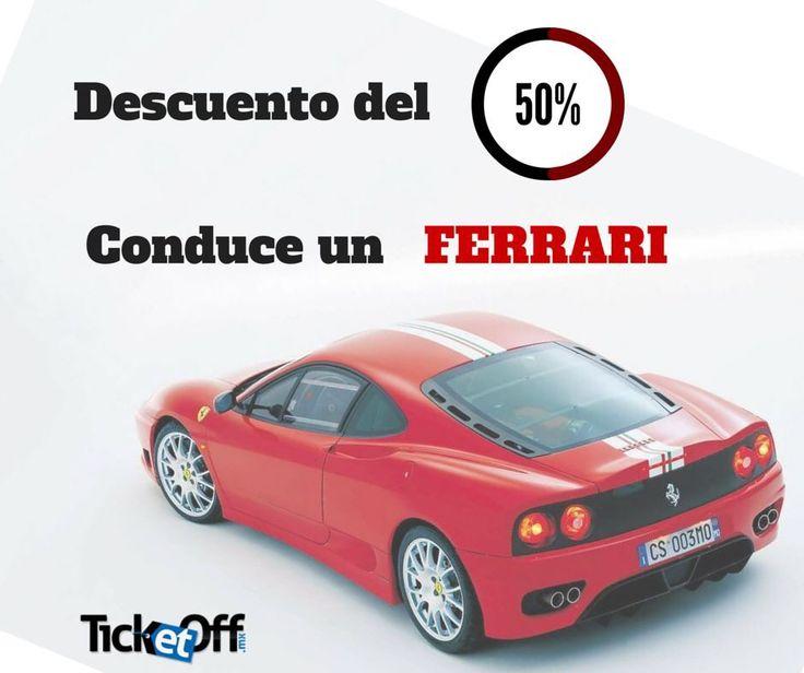 Maneja un Ferrari, vive la experiencia