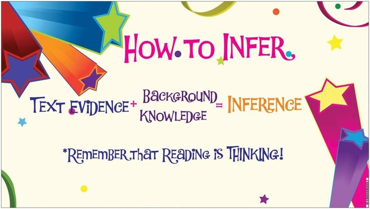 How to Infer