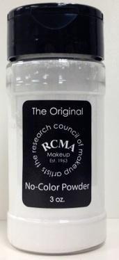 Polvo Translúcido No Color 3oz de RCMA. Polvo translúcido sin color. Al no tener ningún tipo de color o pigmento deja intacto el color del maquillaje base, excelente para fijar sin dejar plastas. Muy necesario en cualquier kit, desde el estudiante hasta el profesional