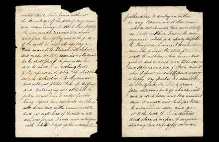 Ned Kelly's famous Jerilderie Letter. Read the full letter online here: http://www.slv.vic.gov.au/our-collections/treasures-curios/jerilderie-letter