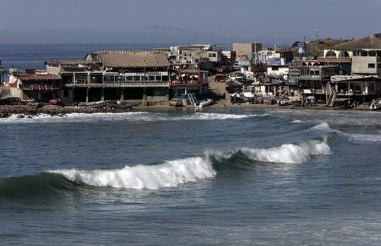 Popotla fishing village good times places for Baja california fishing
