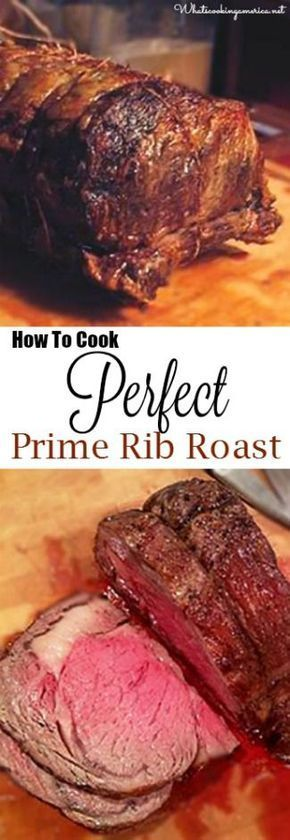 How To Cook Perfect Prime Rib Roast - Purchasing, Prepping, Cooking Temp Charts, Carving & Side Dishes!