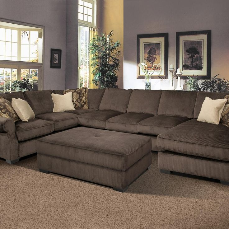 25+ Best Ideas About Large Sectional Sofa On Pinterest