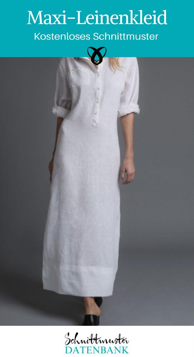 Maxi-linen dress