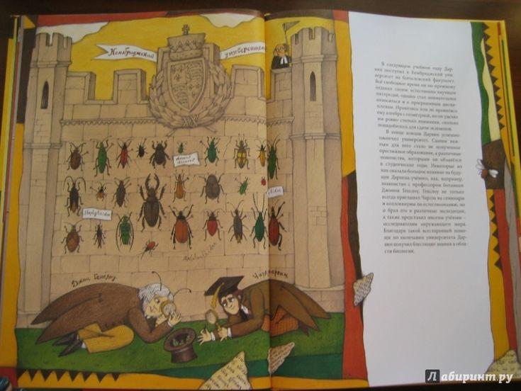 Иллюстрация 10 из 30 для Чарльз Дарвин - Ли-Юнь Инь | Лабиринт - книги. Источник: Никoль