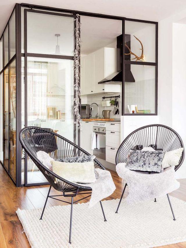 La réhabilitation de cet appartement dans le centre de Madrid a fait des miracles, d'où le sentiment d'espace surprenant grâce au travail du designer Nacho Olive, de Diseño Interior, qui s'est occupé