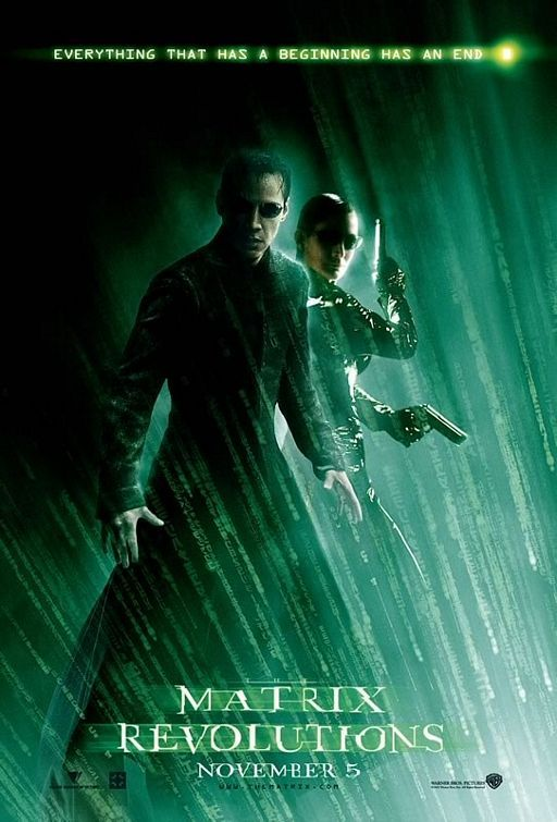Neo discovers that somehow he is able to use his powers in the real world too and that his mind can be freed from his body, as a result of which he finds himself trapped on a train station between the Matrix and the Real World. Meanwhile, Zion is preparing for the oncoming war with the machines with very little chances of survival. Neo's associates set out to free him from The Merovingian since it's believed that he is the One who will end the war between humans and the machines.