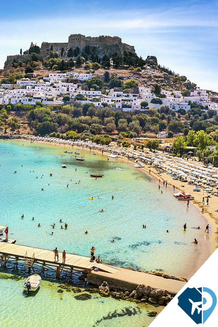 La isla de Rodas es una de las zonas más turísticas de Grecia, por sus soleadas playas y por el legado de mitos y leyendas que perdura en cualquier rincón de la isla. Viaja y vive la leyenda. #PonteaViajar
