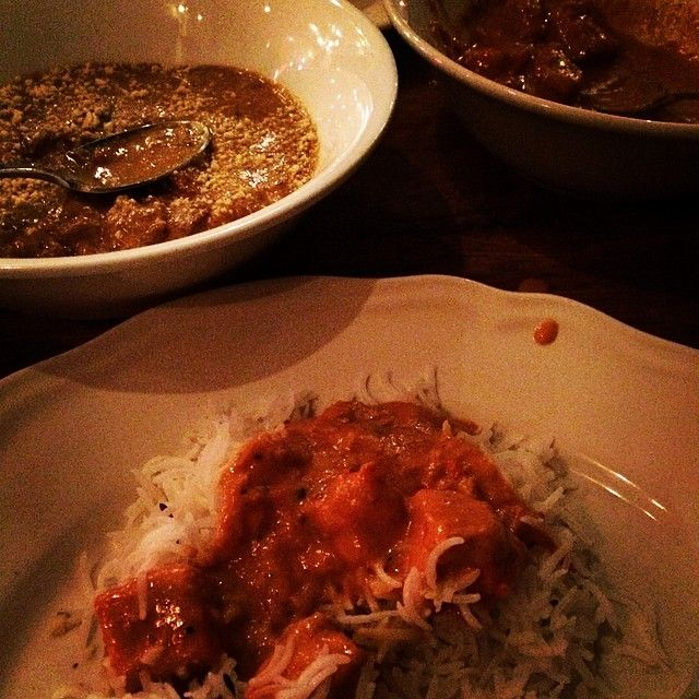 Babur in Toronto, ON 273 Queen Street W. Indian fusion, vegetarian options