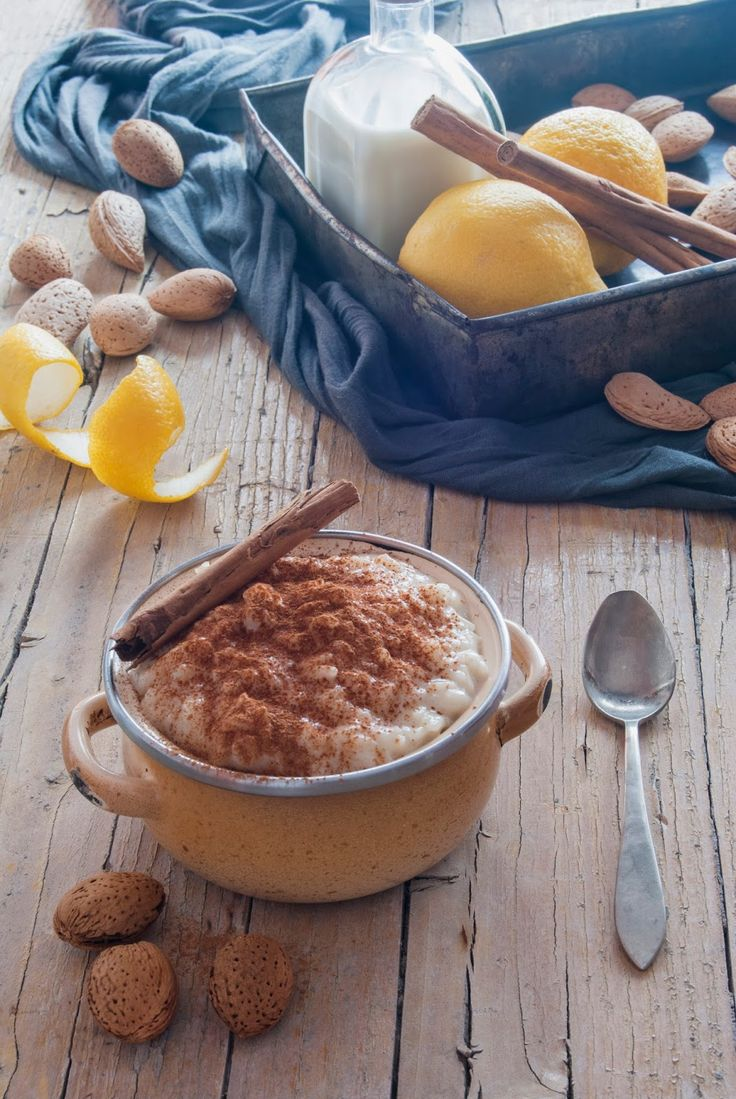 La asaltante de dulces: Receta de arroz con leche sin lactosa/ Lactose- free rice pudding recipe. Yummy!