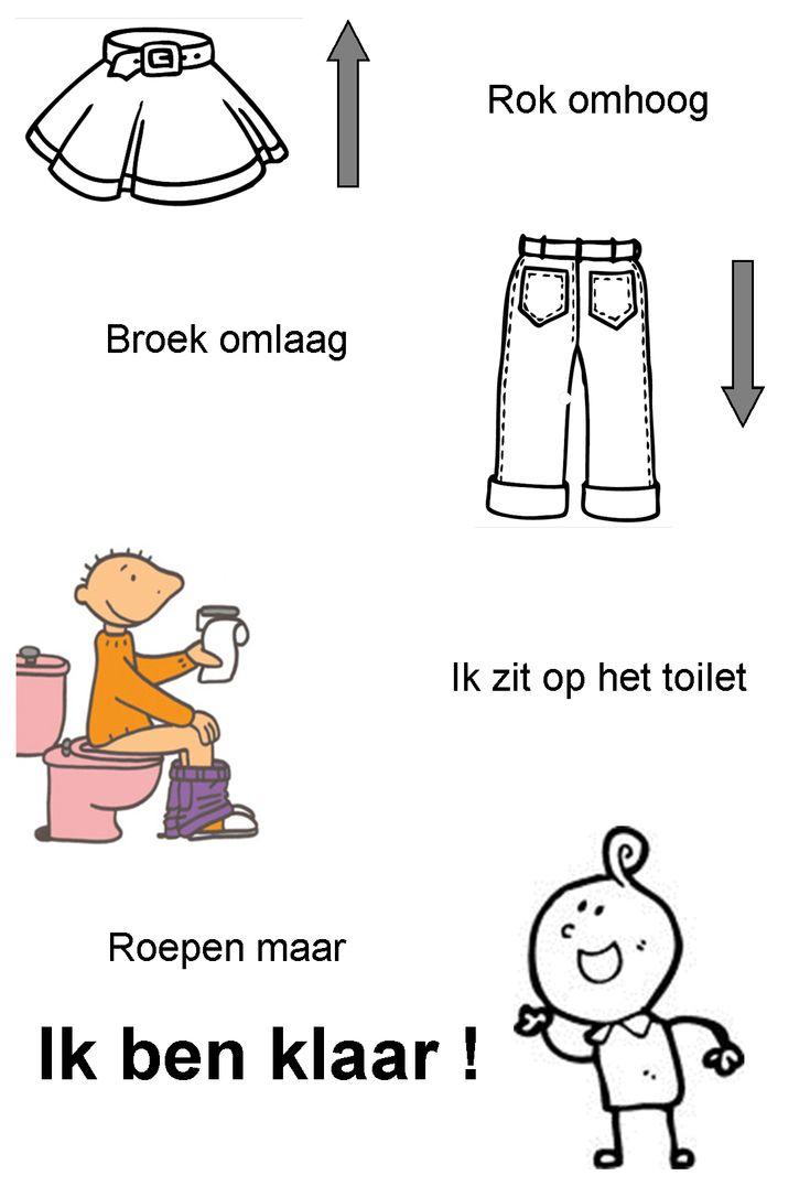 versje: ik ben klaar / toiletbezoek