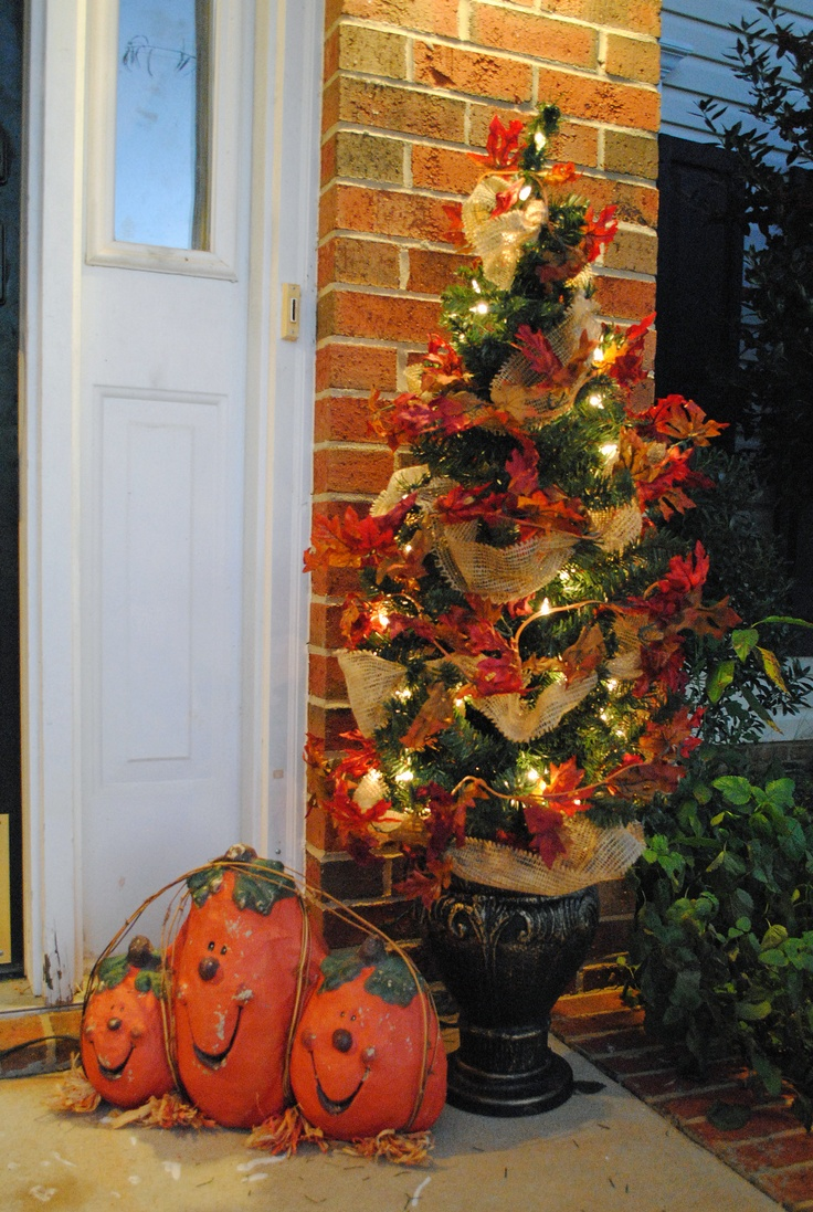 Fall decorations: