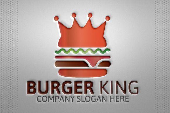 Burger King Logo by josuf on Creative Market