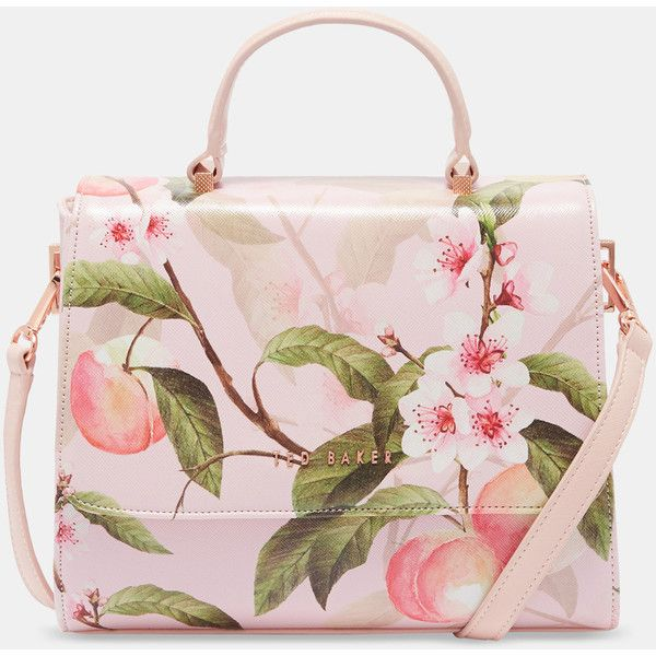 Ted Baker Blossom Crosshatch Tote Bag 179 Liked On Polyvore