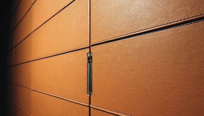 Knoll Leather Wall Panels
