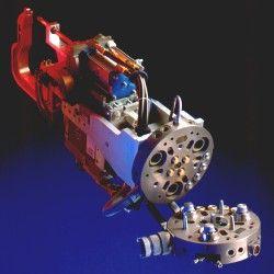 Trocador de Ferramenta/Tool Changer, Pulso Mecânico/Swivel e Garras Especiais/Special Gripper - Made by IPR GmbH