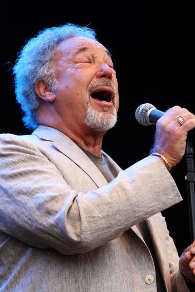 Tom Jones Photos Photos - Tom Jones performs on day three of Latitude Festival 2010 held at Henham Park Estate on July 18, 2010 in Southwold, England. - Latitude Festival 2010: Day 3