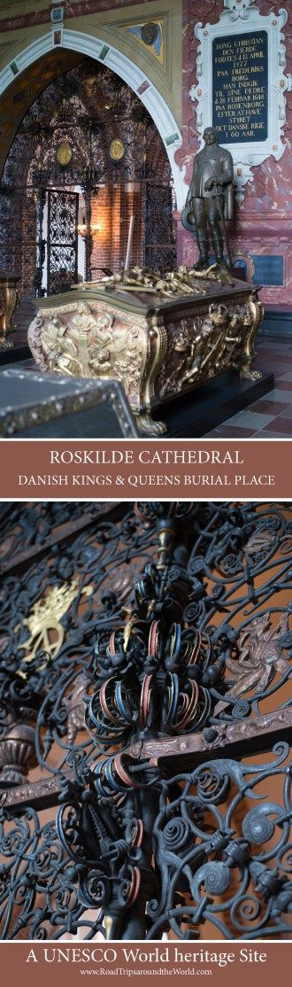 Roskilde Cathedral - Denmark first Brick Gothic Cathedral & Kings and Queens resting place - www.RoadTripsaroundtheWorld.com