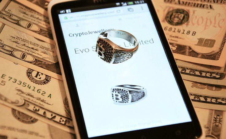 Vitaliy Shatohin Evo Stage Signet Ring #bitcoin #jewelry #jewellery #crypto #cryptocurrency