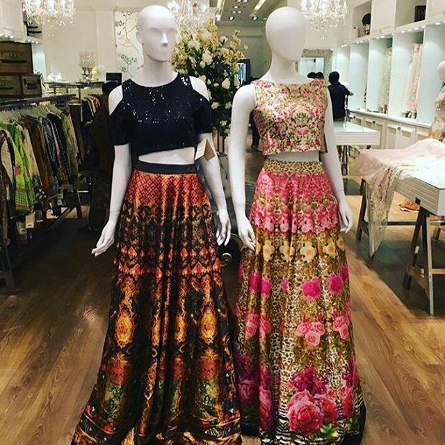 These silk skirts are @threadsandmotifs #emporiummall #lahore #Nishsays #fashionblogger #fashion #blogger #blogging #fashionstatement #lahorediaries