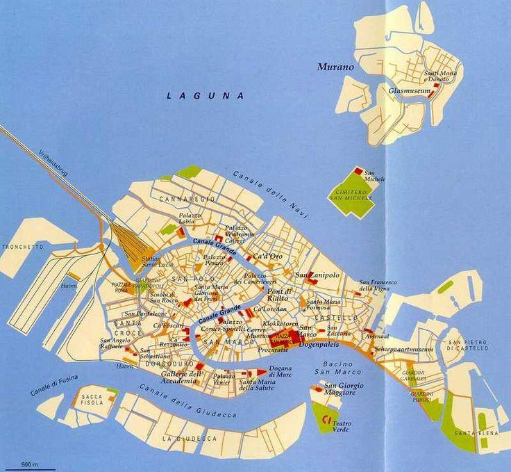 kaart Venetie