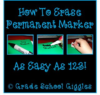 how to get out permanent marker