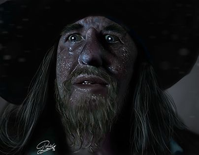 "Check out new work on my @Behance portfolio: ""Capitan Barbossa (tributo al film)""…"