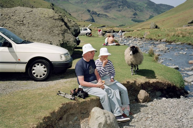 Martin Parr — Lake District, Honister Pass (1994)