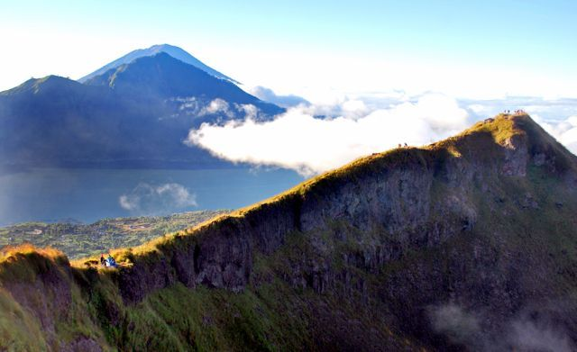 Perfect early morning at Mt Batur Bali.