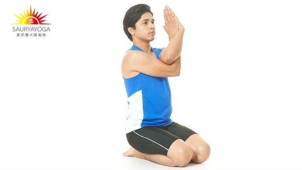 幫自己深層按摩!1分鐘「牛面式」減少氣血阻塞,把僵硬的肩頸舒展開來(瑜珈) - Sujit老師的3分鐘神奇瑜珈課 - 養生 - 良醫健康網 - 商業周刊(百大良醫)