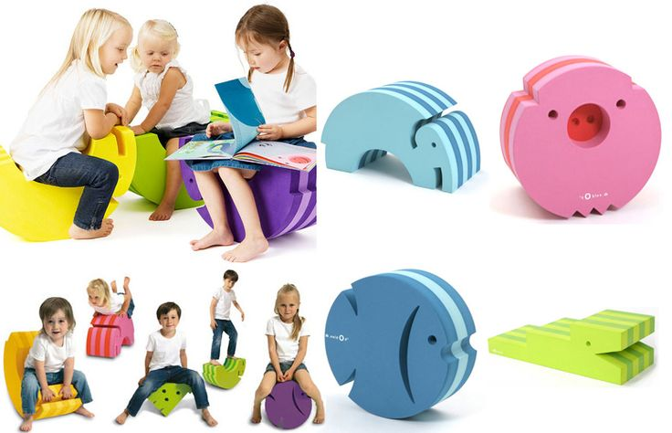 Great items, why not make sitting down fun  bObles furniture for kids only