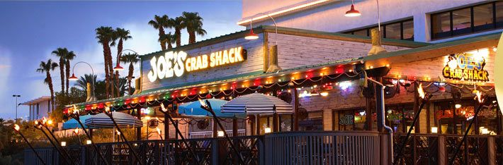 Laughlin, Nevada Fab seafood buffet @ Joe's Crab Shack located in the Golden Nugget.