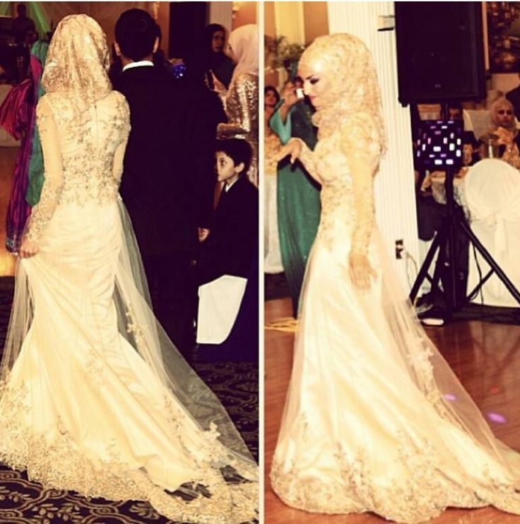 Gorgeous!!!!!! I would so wear this at my engagement party or such. Beautiful! #hijab #hijabi