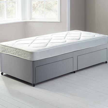 Fogarty Little Sleepers Water-Resistant Platform Top Divan Set with 2 Drawers