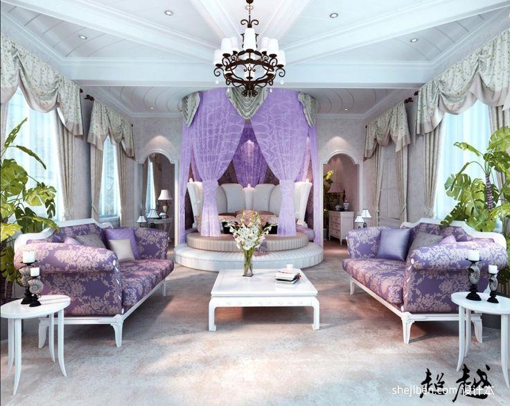 Schlafzimmer flieder ~ Die besten 25 romantisches lila schlafzimmer ideen auf pinterest