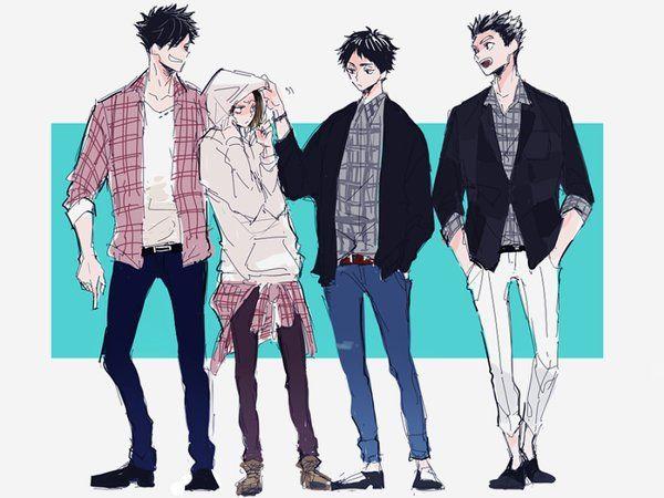 Tokyo boys | kuroo kenma akaashi bokuto | Haikyuu!!