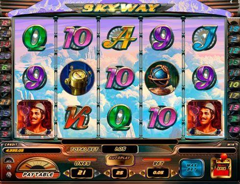 Игровой автомат Sky Way играть на деньги в казино Вулкан.  В игровом автомате Sky Way вы сможете отправиться в путешествие на дирижабле. Получите щедрые суммы реальных денег в казино Вулкан при помощи пилота и других членов экипажа! Играть в этом аппарате невероятно п�