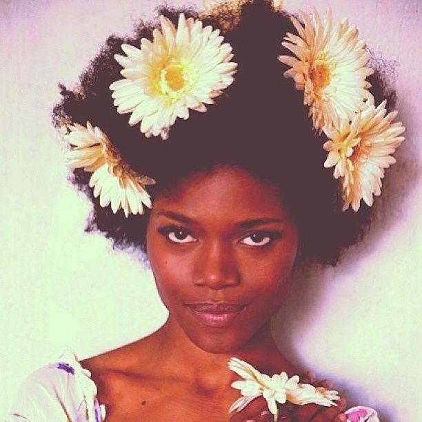 Carefree Black Girl ♡ Natural hair