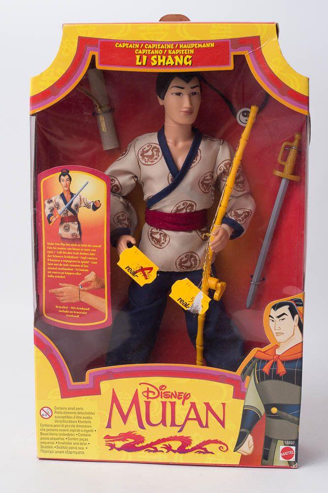 Mattel Walt Disney s Mulan Captain Li Shang wie Barbie Neu OVP NIB in Spielzeug, Puppen & Zubehör, Mode-, Spielpuppen & Zubehör | eBay