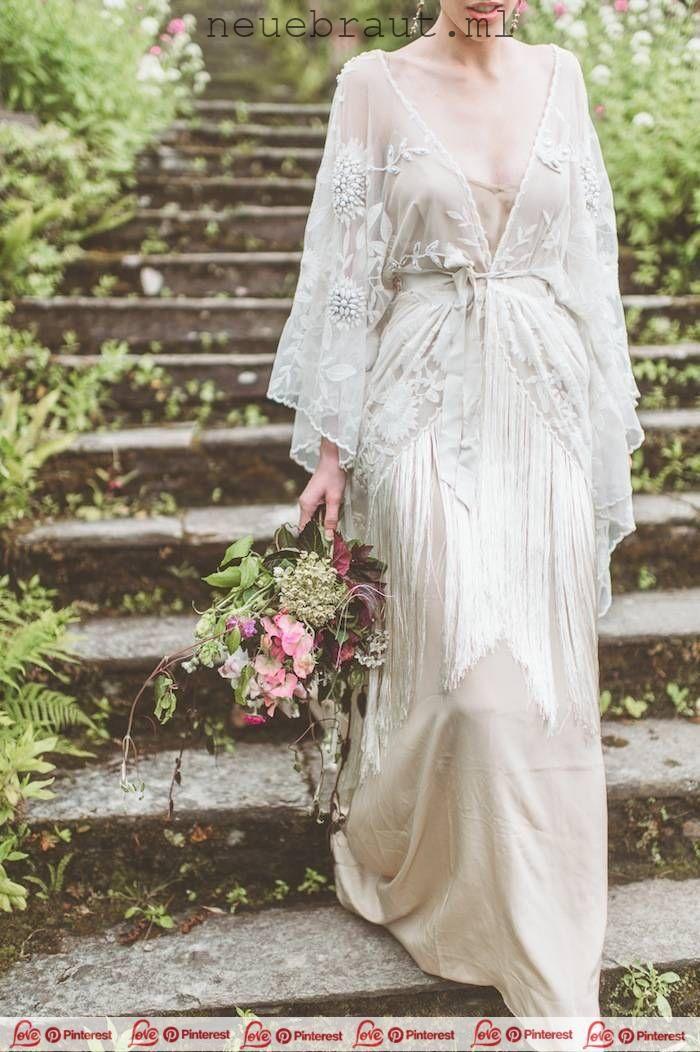Vintage Hochzeitsidee Hochzeitskleid Foto Geweih Aus Papier