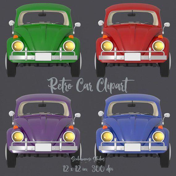 80% RABATT BIS NUR 6/22 Retro-Auto-ClipArt, Cliparts für gewerbliche Zwecke, rote Auto-Cliparts, blaue Auto-Cliparts