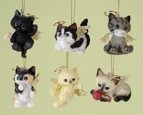 228 best Cat Christmas Ornaments images on Pinterest | Cats ...