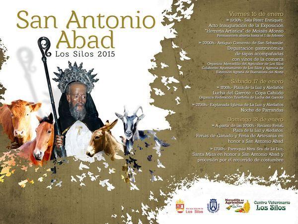 FERIA DE GANADO Y ARTESANÍA SAN ANTONIO ABAD, Los Silos [18 enero] http://www.tenerifeartesania.es/portal/feria-de-ganado-y-artesania-san-antonio-abad-los-silos-18-enero/