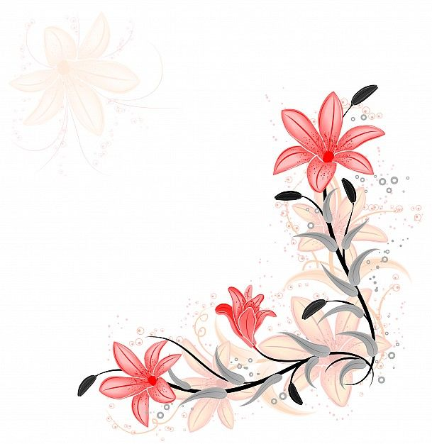 http://www.photaki.com/picture-floral-element-for-design-with-lilies-vector_164612.htm